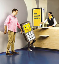 How to recharge a mobile phone account - Česká pošta