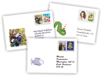 Envelopes with additional prints