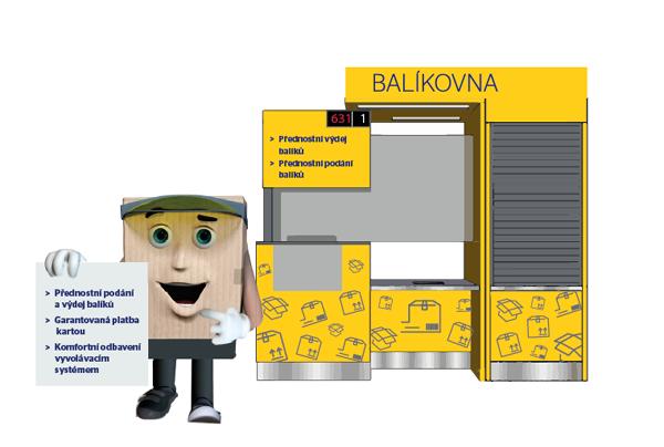 Balíkovna - Česká pošta