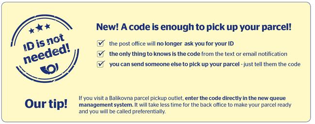 Parcel Delivery To Post Office - Česká pošta